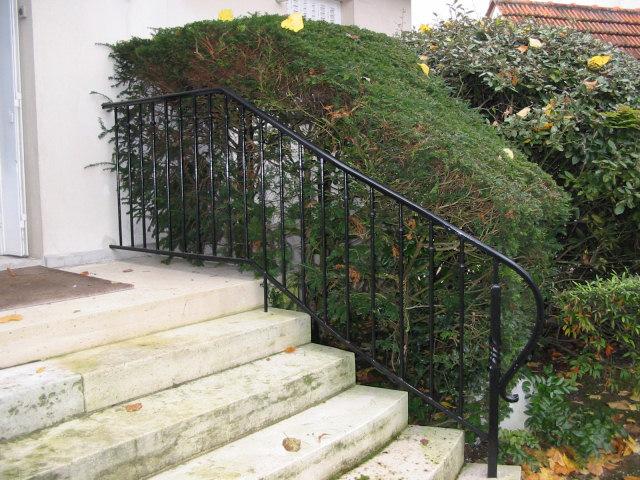 rampe escalier exterieur fer forge latest rampe escalier. Black Bedroom Furniture Sets. Home Design Ideas